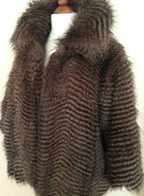 a4e02339450 B/New River Island Thick Fluffy Faux Fur Jacket Coat Completely Sold-Out £