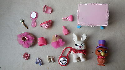 Polly pocket   petits animaux + accessoires