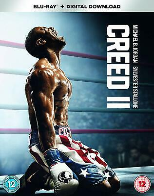 Creed II  with  Michael B. Jordan New (Blu-ray  2019)