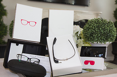 RARE NEW Google Glass Diane Von Furstenberg Explorer Edition + 2 PAIRS OF SHADES