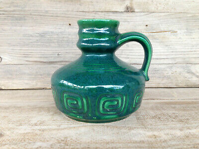 STEIN KERAMIK Vase / Midcentury Vintage West Germany Pottery / sign 56 size 12