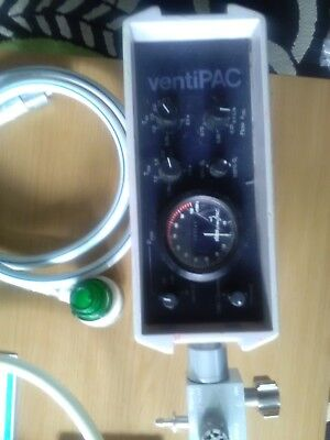 Ventpac Ventilatior.Newtons paed valve .timed  cycle working good, complete