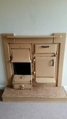60s Range cast iron Fire and hearth back boiler cooker