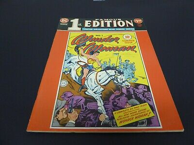 Famous First Edition #f-6 Reprints Wonder Woman #1 – Fine Cond.