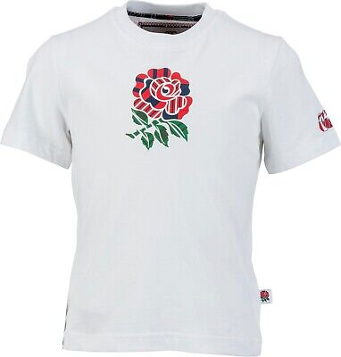 CANTERBURY JUNIOR CANTERBURY KIDS ENGLAND RUGBY World Cup T Shirt