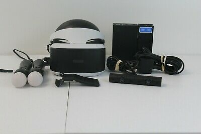 f028078cd42 SONY PLAYSTATION 4 VR Virtual Reality Headset CUH-ZVR1   2 Motion ...