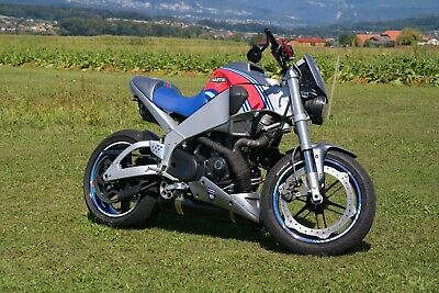 Buell XB9SX Lightning City Martini Racing