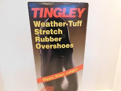 Tingley 1300 Weather-Tuff Stretch Rubber Overshoes Galoshes