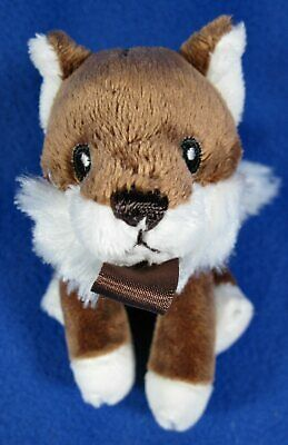 RaZbaby Plush Fox Pacifier Holder Removable Lovey