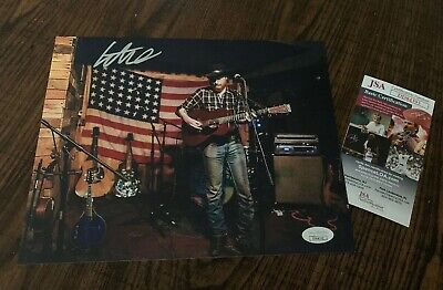 COLTER WALL SIGNED AUTOGRAPHED 8x10 PHOTO COUNTRY MUSIC SUPERSTAR JSA CERT