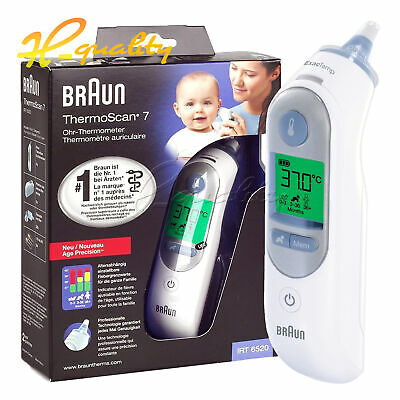 For Braun Thermoscan 7 Ear Thermometer IRT6520 With Backlight Baby/Child/Adult