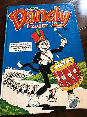 The Dandy Book/annual 1974 Not Clipped And In Very Good Condition