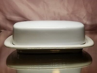 Vintage McCoy Pottery Butter Dish With Lid