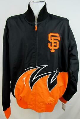 San Francisco Giants Mens X-Large Full Zip Embroidered Dugout Jacket SFG 24