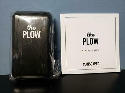 Manscaped The Plow Safety Razor with Case - Best Manscaping Shaver - New!