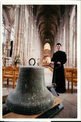 Bell Musical instrument:Chime bell of canterbury cathderal. - Vintage photo