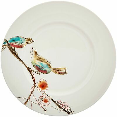 Lenox Simply Fine Chirp Salad/Luncheon Plates   Set of 4