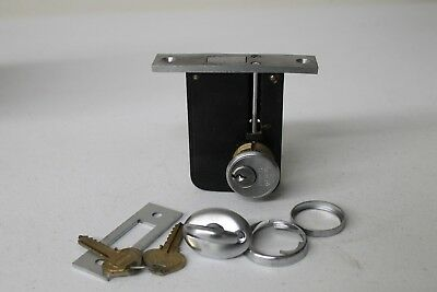 Vintage Russwin Door Lock Set With Key Commerical