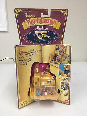Mattel 14196 Disney Tiny Collection Aladdin Agrabah Marketplace  Figure Play Set