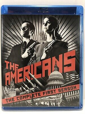 The Americans Complete First Season 1 One Blu-ray 3 Disc Set 2013
