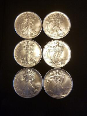 1993 1 oz AMERICAN SILVER EAGLE BRILLIANT UNCIRCULATED
