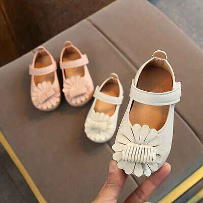 Toddler Infant Kids Baby Girls Cartoon Flower Princess Party Shoes Sandals