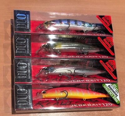 DUO Realis Jerkbait 120SP SW Limited Pro Blue Prism Saltwater 5X Trebles 5//8 oz