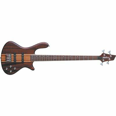 New Washburn T24NMK Taurus 4-String Electric Bass Guitar, Natural Matte
