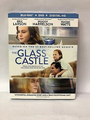 The Glass Castle (Blu Ray + Dvd + Slip Cover) FACTORY SEALED