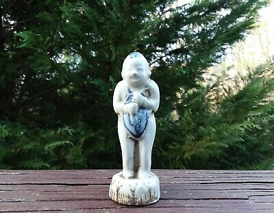 Rare Antique Chinese Porcelain Figurine Ceramic Pottery Old China Fine Statue