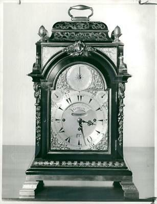 a bracket clock - Vintage photo