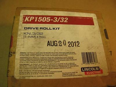 Lincoln KP1505-3/32 Drive Roll & Wire Guide Kit for LF74 LN10 DH10 Wire Feeders