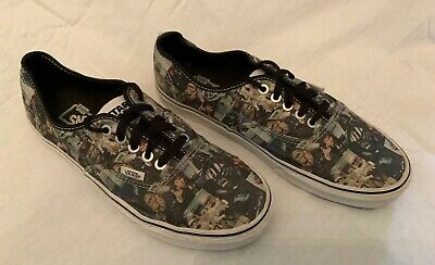 6bb5163e304f59 Van s Star Wars May The Force Be With You Men s Size 10 Canvas Sneakers