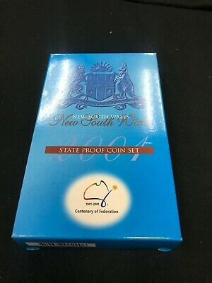 2001 State PROOF 3 Coin Set  New South Wales