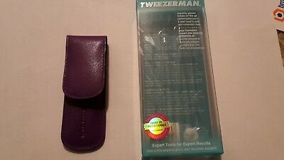 Tweezerman tweezer kit - 2 Tweezers with packaging