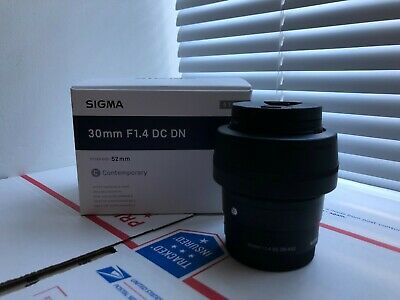 Sigma 30mm F1.4 DC DN Sony E mount / Mint Condition/