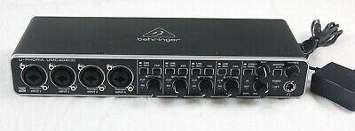 BEHRINGER U-PHORIA UMC404HD Audiophile Audio Interface - PARTS DEFECTIVE  #R573