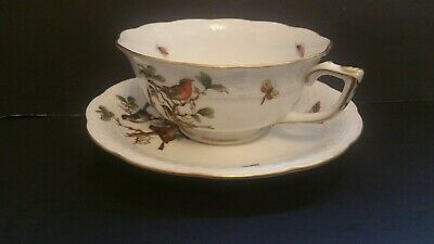 Herend  tea cup with saucer - Rothschild pattern