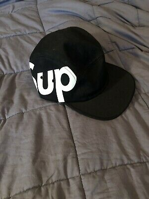 bee8152315b Supreme NY Five Panel Hat Black!! Fire 🔥 Hypebeast Rare