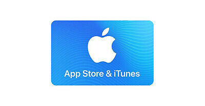 APPLE ITUNES $50 Card (for Music Downloads/Apple App Store