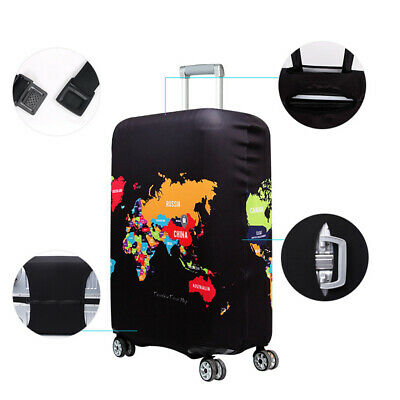 Elastic Travel Luggage Suitcase Cover Protective Bag Dustproof Case Protector