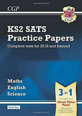 KS2 Complete SATS Practice Papers Pack: Science, Maths & English... by CGP Books
