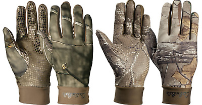 New Cabela/'s Black Leather Palm Mesh Back Shooting Gloves Lightweight Size  XL