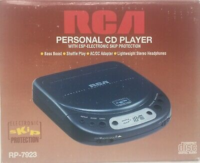 RCA personal cd player Rp-7923 Brand New In Box. RARE!!