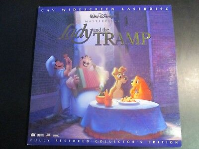 Walt Disney's Lady And The Tramp-Widescreen Masterpiece Edition Laserdisc