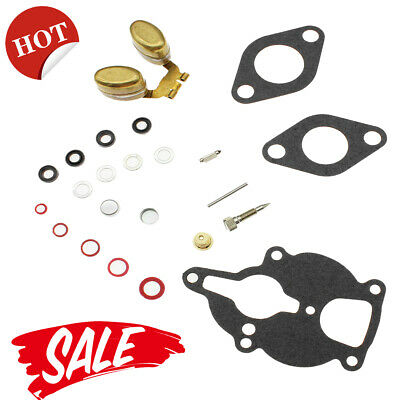 Carburetor Kit & Float for Zenith Wisconsin Engine VH4D VHD TJD replaces LQ39 US