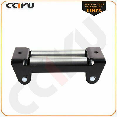 Duty Winch Roller Fairlead Universal 4-Way Roller Cable Guide For 02-10 Hummer