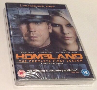 HOMELAND - COMPLETE FIRST SEASON [2012] *** New & Sealed DVD ***