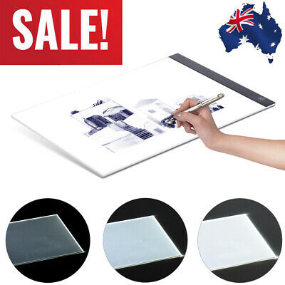 A4 LED Light Box Drawing Tracer Table Painting Tracing Pad Copy Board Panel Pad