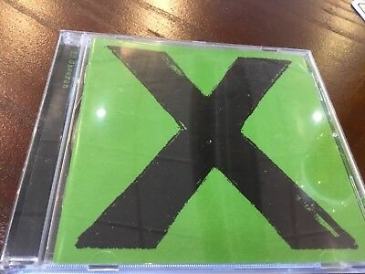 Ed Sheeran - X - Cd Album - One / Thinking Out Loud / Photograph / Sing +